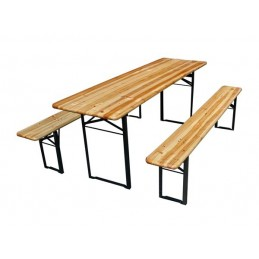 TABLE - AVEC 2 BANCS - 200...