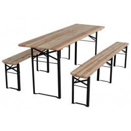 TABLE - AVEC 2 BANCS - 220...