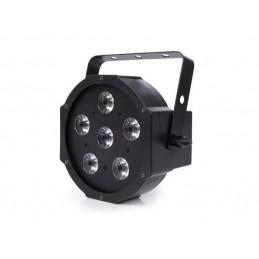 PAR PLAT - 6 x 3 W LED RGB