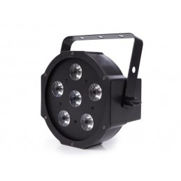 PAR PLAT - 6 x 4 W LED RGBW