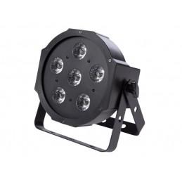 PAR - 6 x 3 W LED UV - COMPACT