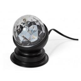 MINI BOULE DISCO À LED - 3 W