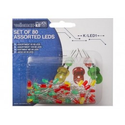 JEU DE LED - 80 pcs - 2...