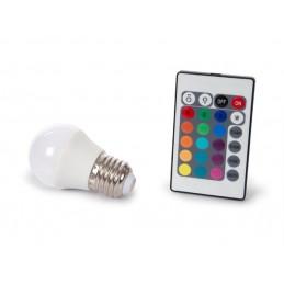 LAMPE LED - 4 W - E27 - RVB...