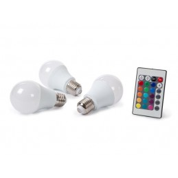 JEU DE 3 LAMPES LED - 7.5 W...