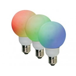 AMPOULE LED RGB - E27- 20...