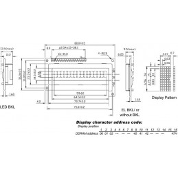 "LCD 16 x 1 ""BOTTOM VIEW""..."