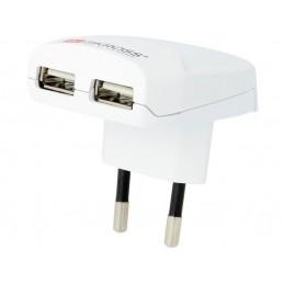 CHARGEUR USB AVEC FICHE...