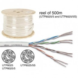 CÂBLE UTP CAT5E 4 x 2 x...