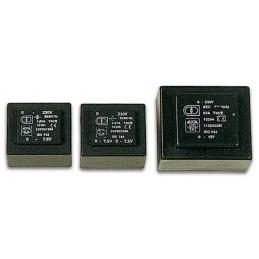TRANSFORMATEUR MOULE  2.5VA  2 x 12V / 2 x 0.104A