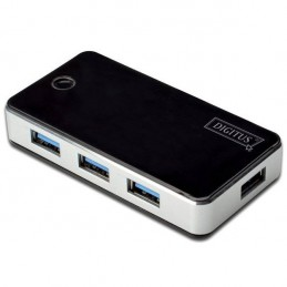 HUB USB 3.0 4 PORTS NOIR...