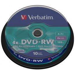DVD VIERGE X 10 VERBATIM...