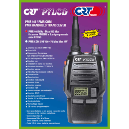 TALKIE WALKIE PMR446 CRT P7LCD