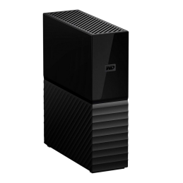 Disque dur WESTERN DIGITAL 3.5 externe My Book USB 3.0 - 8 To, noir