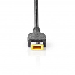Adaptateur pour Ordinateur Portable Lenovo 90 W Broche Rectangle Jaune 4.5A
