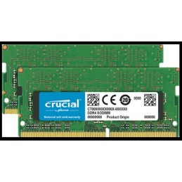 copy of MEMOIRE VIVE SO-DIMM CRUCIAL NOTEBOOK 8 GO 2400MHZ