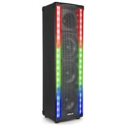 Double rangée de LEDs pour créer un superbe show de lumière