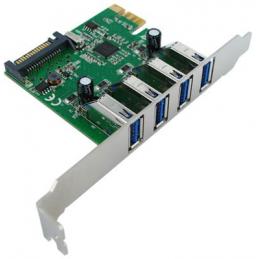 Carte PCI-Express - 4 x USB...