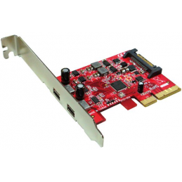 Carte PCI-Express - 2 x USB...