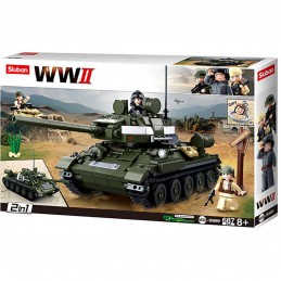 Elements WWII Serie T-34\85...