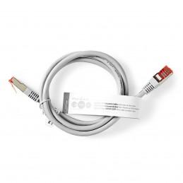 Câble Réseau Cat 6 Gris 1 m