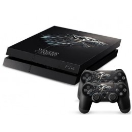 Skin sticker PS4 - Winter...