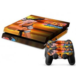 Skin sticker PS4 - Naruto