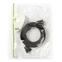 Câble VGA Mâle Noir de 5 m