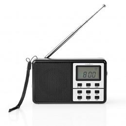Radio/Réveil FM Noir 1,5 W...