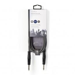 Câble Audio Stéréo - 3,5 mm Mâle 5 m Gris SIM Radio Saint Etienne