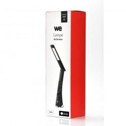 Lampe de Bureau Chevet WE LCD USB Chargeur Réveil Calendrier Température Tactile