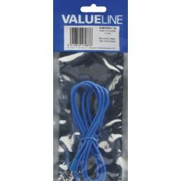 Câble Audio Auxiliaire Stéréo Bleu 1 m