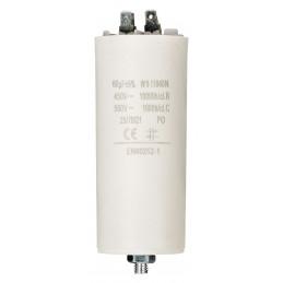 Condensateur 60 uf 450 v +...