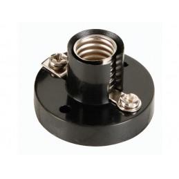 AC LAMP SOCKET. E10. BLACK