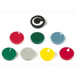 LID FOR 21mm BUTTON (YELLOW)