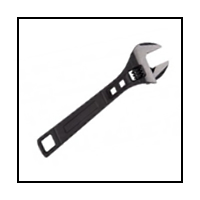 Clés à molette -  EGAMASTER - ADJUSTABLE WRENCH - 8""