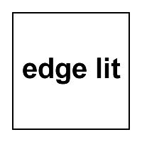 Série Edge Lit
