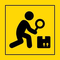 Outils d'inspection & préhension -  JEU DE COUPELLES MAGNÉTIQUES - RECTANGULAIRE - 4 pcs