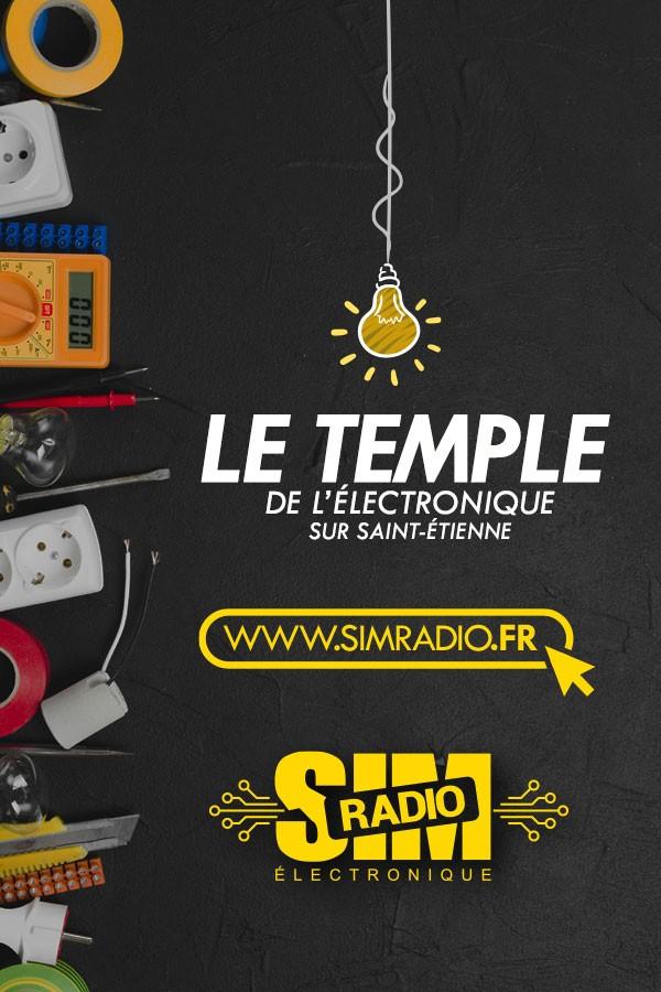 sim radio électronique saint etienne loire